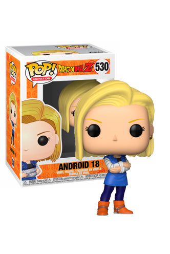 Funko Pop Dragon Ball Z - Android 18 Pop! Figure