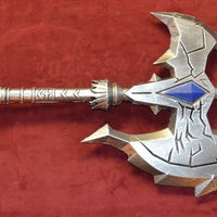 FOAM - WoW Shadowmourne Axe - Grey Cosplay weapon