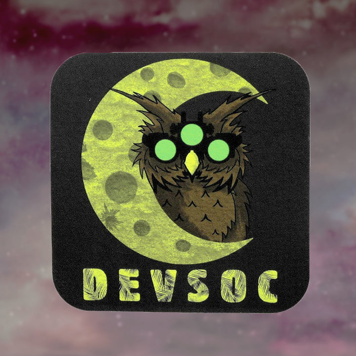 The All Seeing Owl Sticker