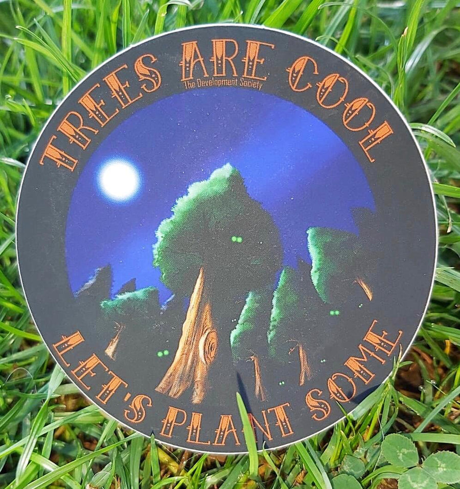 Trees Are Cool Sticker