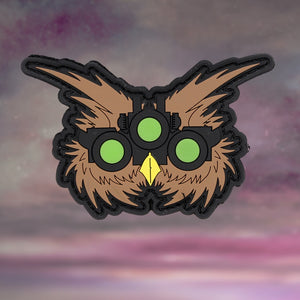 Glowing Owl Eyes Patch