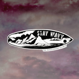 Stay Wavy Sticker
