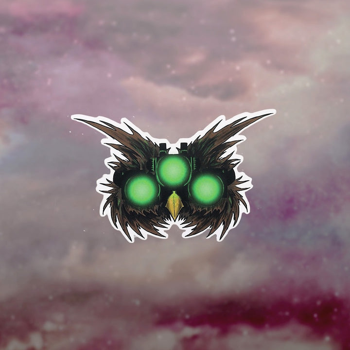 Owl Eyes Sticker