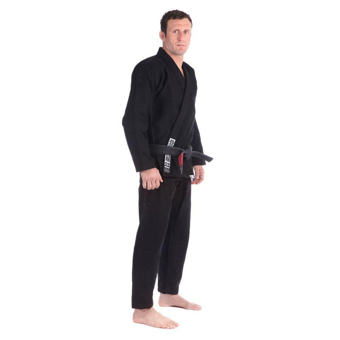 Tatami Essential BJJ Gi black front side right