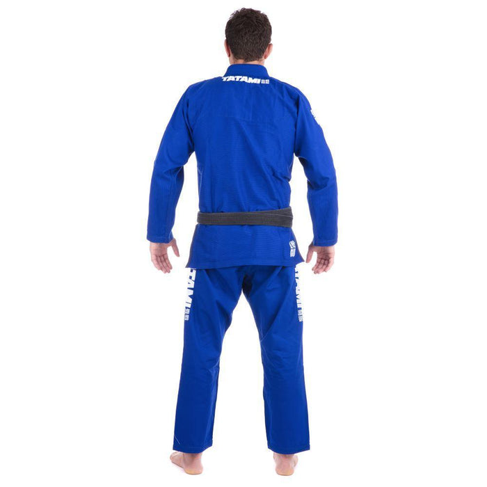 Tatami Essential BJJ Gi blue back
