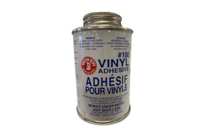 Colle à vinyle et applicateur 4 oz