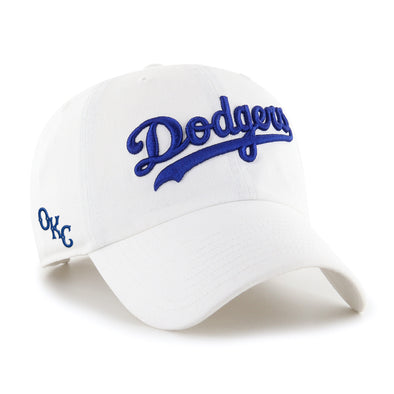 White OKC Dodgers Clean Up