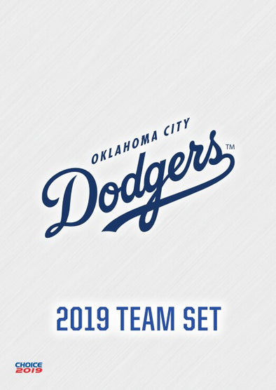 2019 Oklahoma City Dodgers Team Card Set