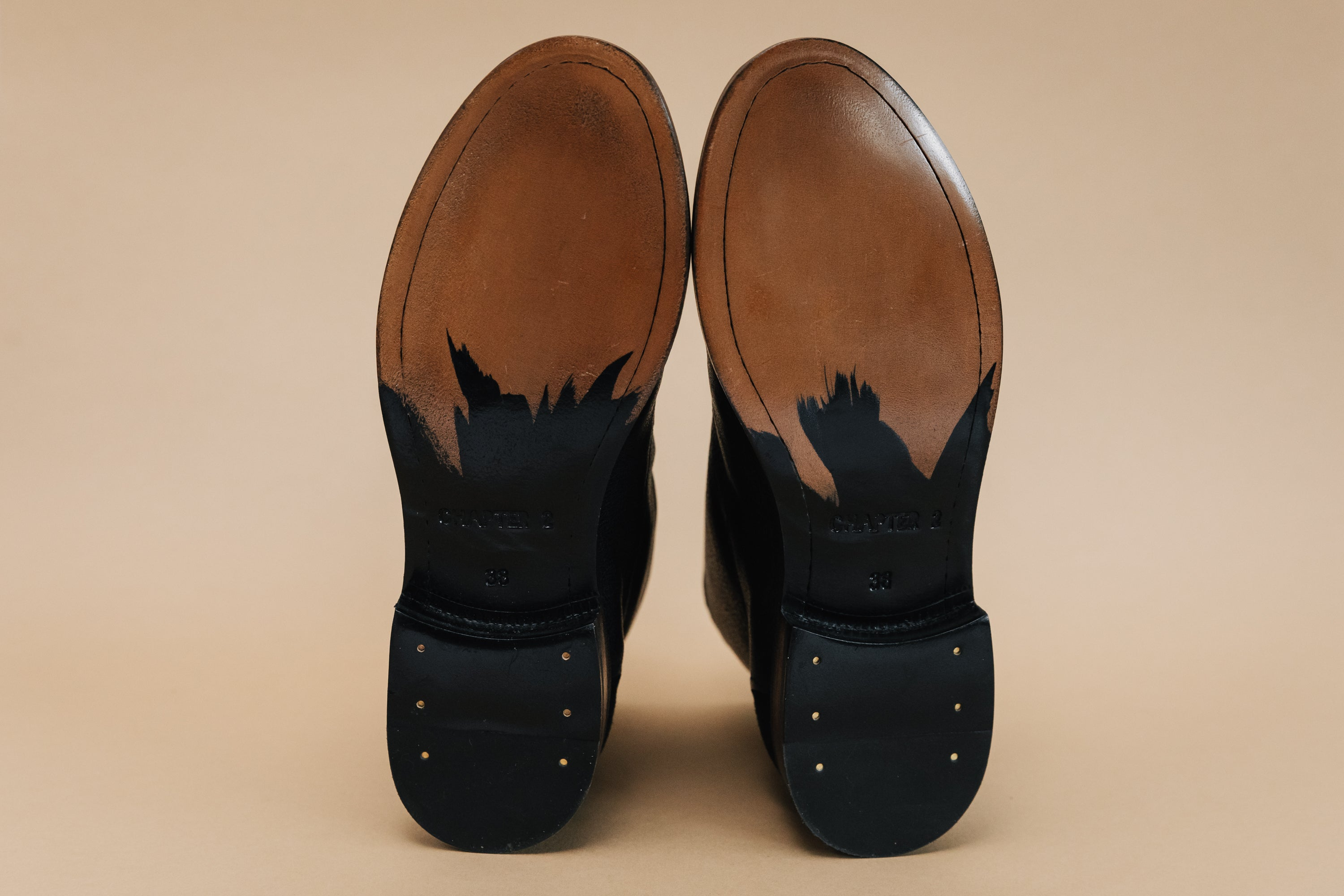 CHAPTER 2 leather sole