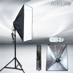 50x70cm Kit Softbox - Falcon S - Aikla | Ring Light & Softbox