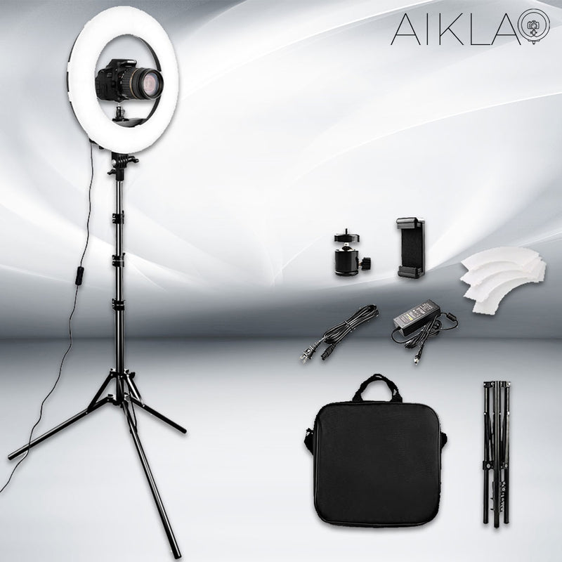 "14"" LED Ring Light - Mini Beam II - Aikla 