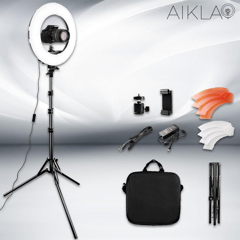 "14"" LED Ring Light - Mini Beam I - Aikla 