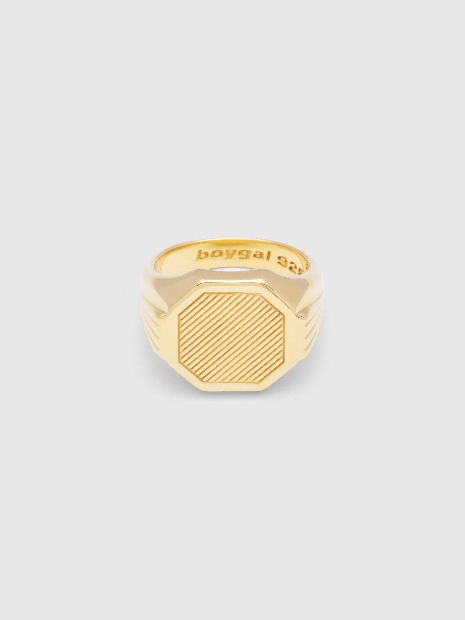 Grand Signet Gold plated