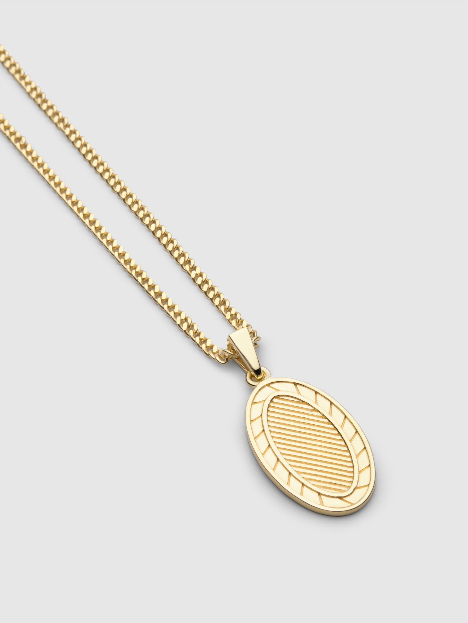 Turid Necklace Gold plated
