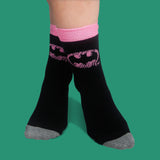 Batman pink polka dot 2 pack socks