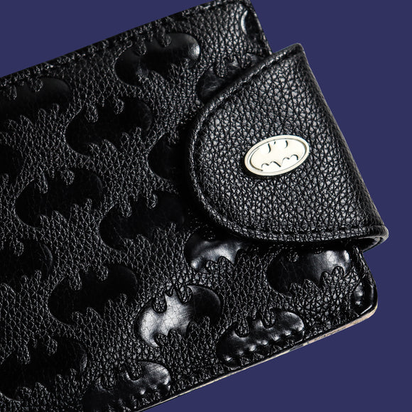 Men's Batman Embossed Wallet