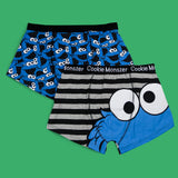 Men's 2 Pack Cookie Monster boxer short
