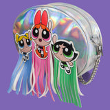 Powerpuff Girls Fringe Bag