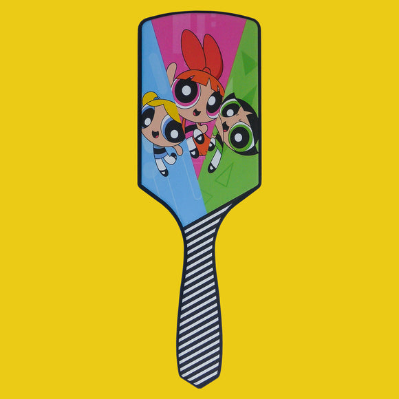 Powerpuff Girls Paddle Hair brush