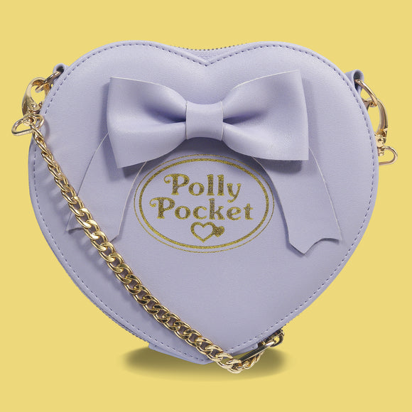 Polly Pocket Purple Bow Cross Body Bag