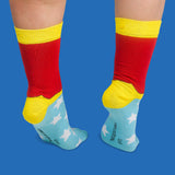 Wonder Woman 2pck socks