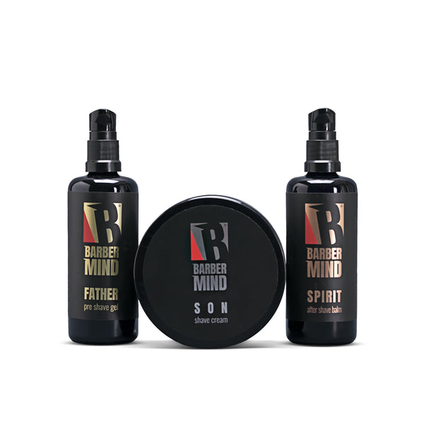 Barber Mind - Piccolo Kit da barba BarberCompany