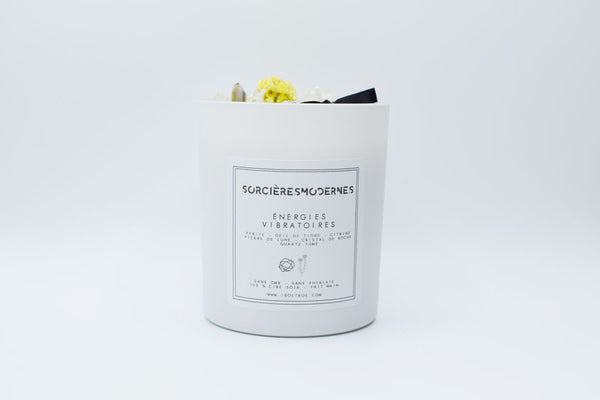 Bougie vegan parfumée Energies vibratoires