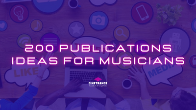 200 Publications Ideas for Musicians