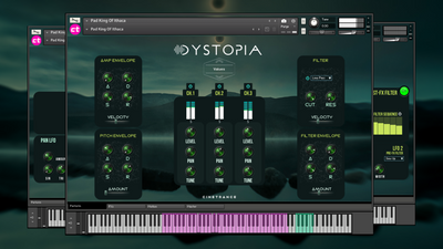 Welcome to DYSTOPIA, our first Kontakt 6 Instrument.