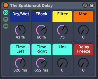 The Spationaut Delay
