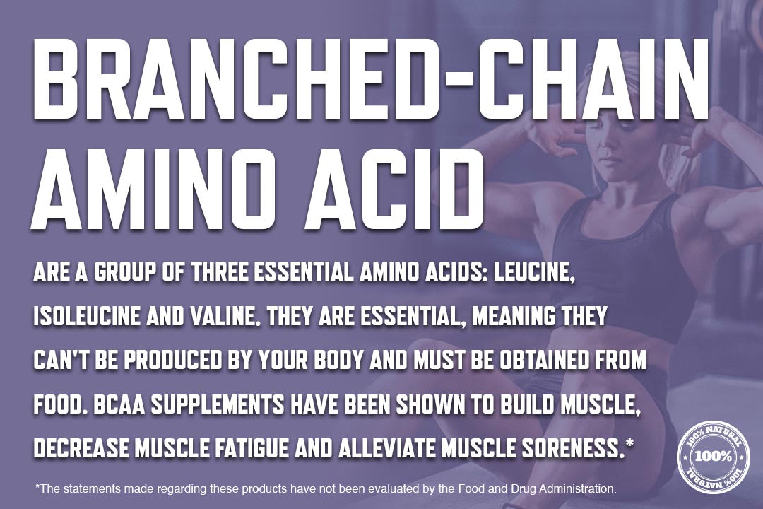 what is a bcaa - branched chain amino acid body fuse graphic