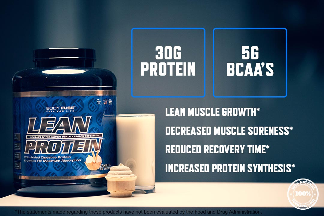 body fuse protein 30g per serving graphic
