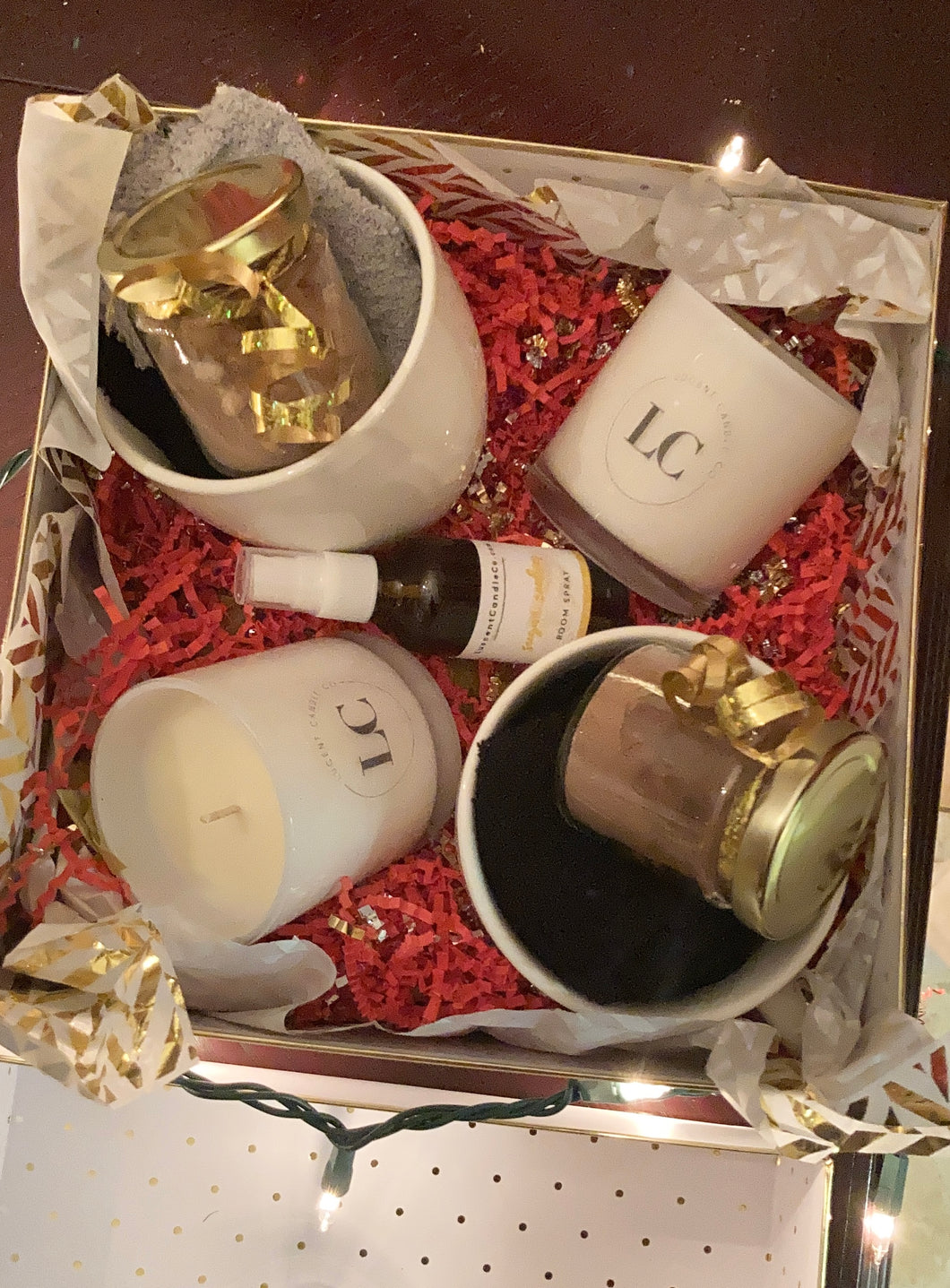Seasonal Holiday Gift Box for Two