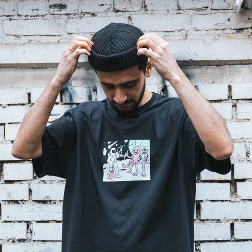 Футболка SUPERTZAR - NASA (black)