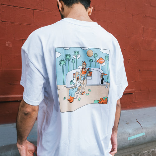 Футболка SUPERTZAR - American Dream (white)