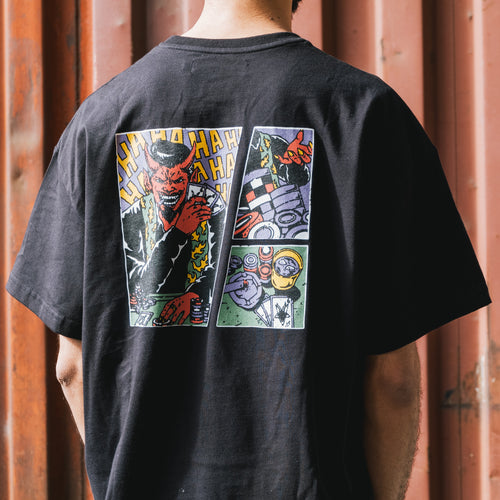 Футболка Supertzar - Four of Kind (black)