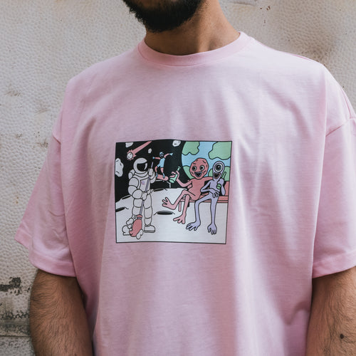Футболка SUPERTZAR - NASA (pink)
