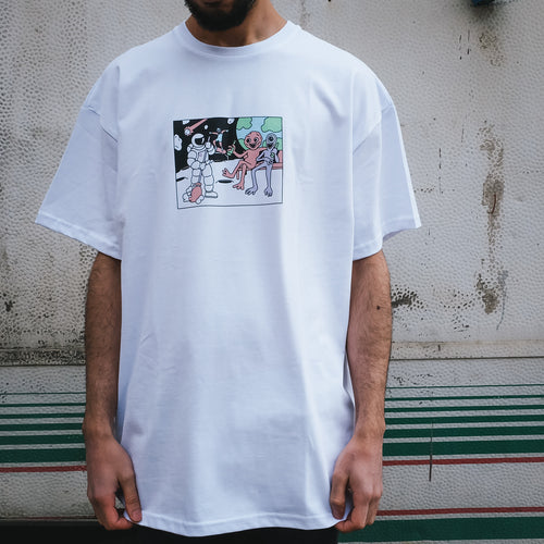 Футболка SUPERTZAR - NASA (white)