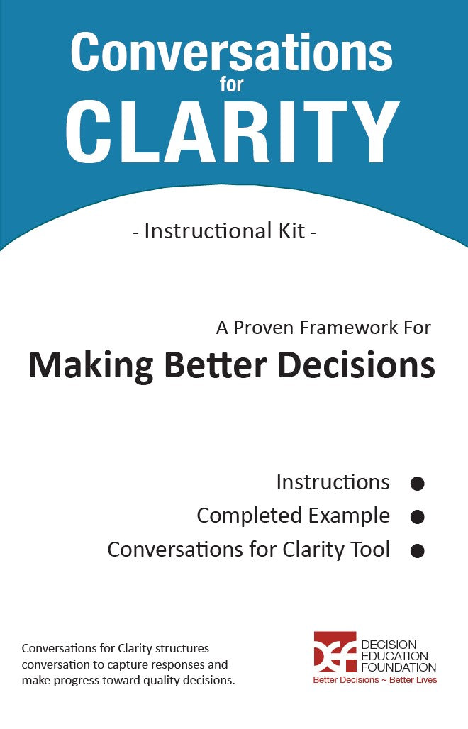 Conversations for Clarity Instructional Kit