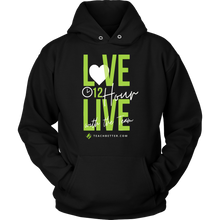 Load image into Gallery viewer, 12 Hour Live Unisex Hoodie - LIMITED TIME