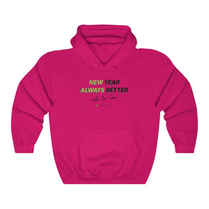 New Year. Always Better - Unisex Heavy Blend™ Hooded Sweatshirt