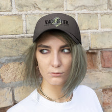 Load image into Gallery viewer, Teach Better Logo Unisex Twill Hat