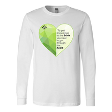 Load image into Gallery viewer, Through the Heart - Unisex Long Sleeve Shirt