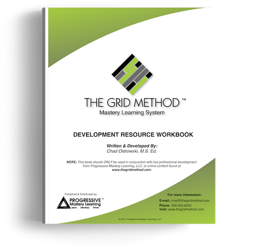 The Grid Method - Development Resource Workbook (Soft Cover)