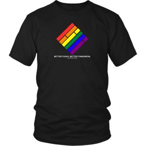 Pride Diamond T-Shirt (White text)