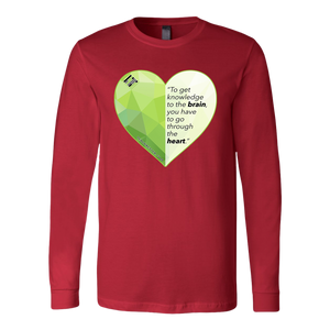 Through the Heart - Unisex Long Sleeve Shirt