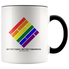 Load image into Gallery viewer, Pride Diamond Coffee Mug