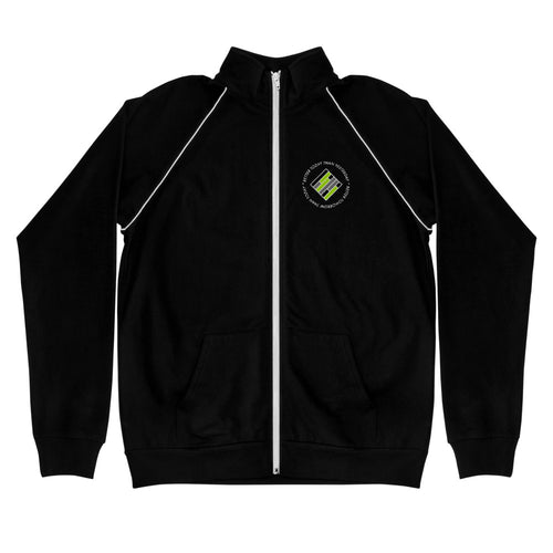 Teach Better Mindset Piped Fleece Jacket