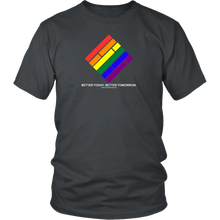 Load image into Gallery viewer, Pride Diamond T-Shirt (White text)