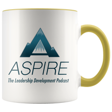 Load image into Gallery viewer, ASPIRE: The Leadership Development Podcast Coffee Mug